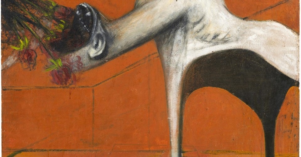 "francis bacon: ""a crucifixion is a self-portrait"""